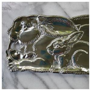 Arthur Court Dining - Arthur Court Aluminum Serveware Bunny Tray